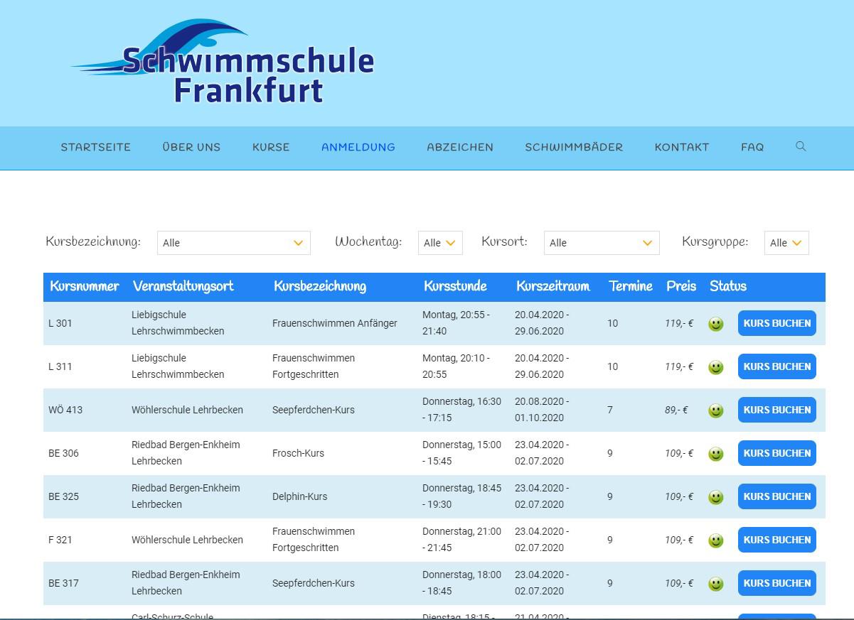 Schwimmschule Frankfurt